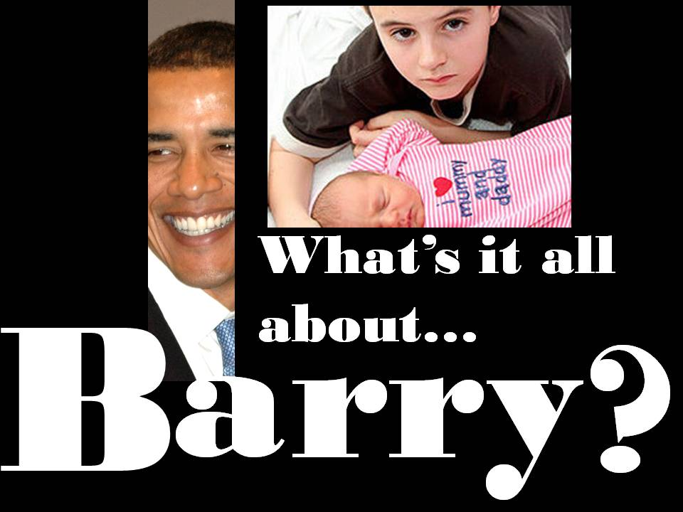 What's It All About…Barry?