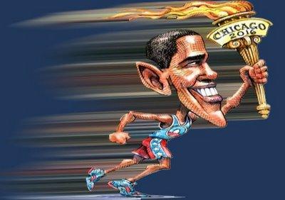 Obama Flew In…Loss Followed