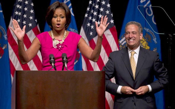 Feingold and the First Lady