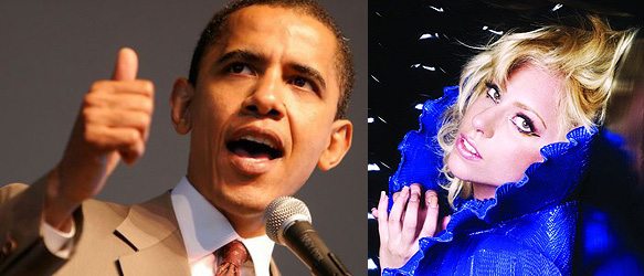 Tripping the Light Fantastic with Lady Gaga and Obama