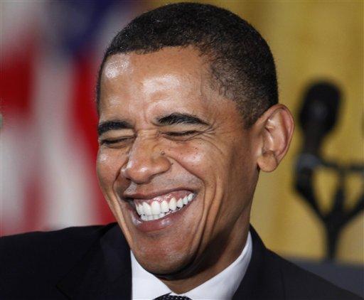 Barack's 'Laugh Factory' Revue