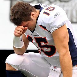 Tebow, Palin, and the Pain of Remorse