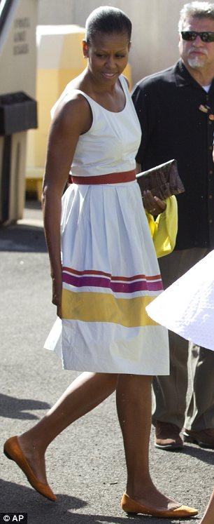 Uproar over Michelle Obama's $2000 Sundress