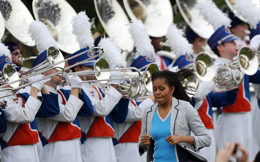 Michelle Obama's Olympic Escapade