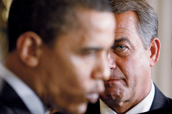 John Boehner Should Get Out of Obama's Way