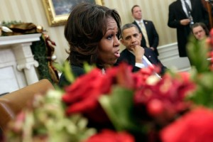 President Obama And First Lady Meet With Mothers To Discuss Health Care