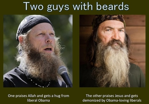 Robertson v. Bergdahl: Liberals and Two Bearded Guys