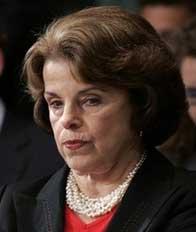 Dianne Feinstein, Friend of Terrorists