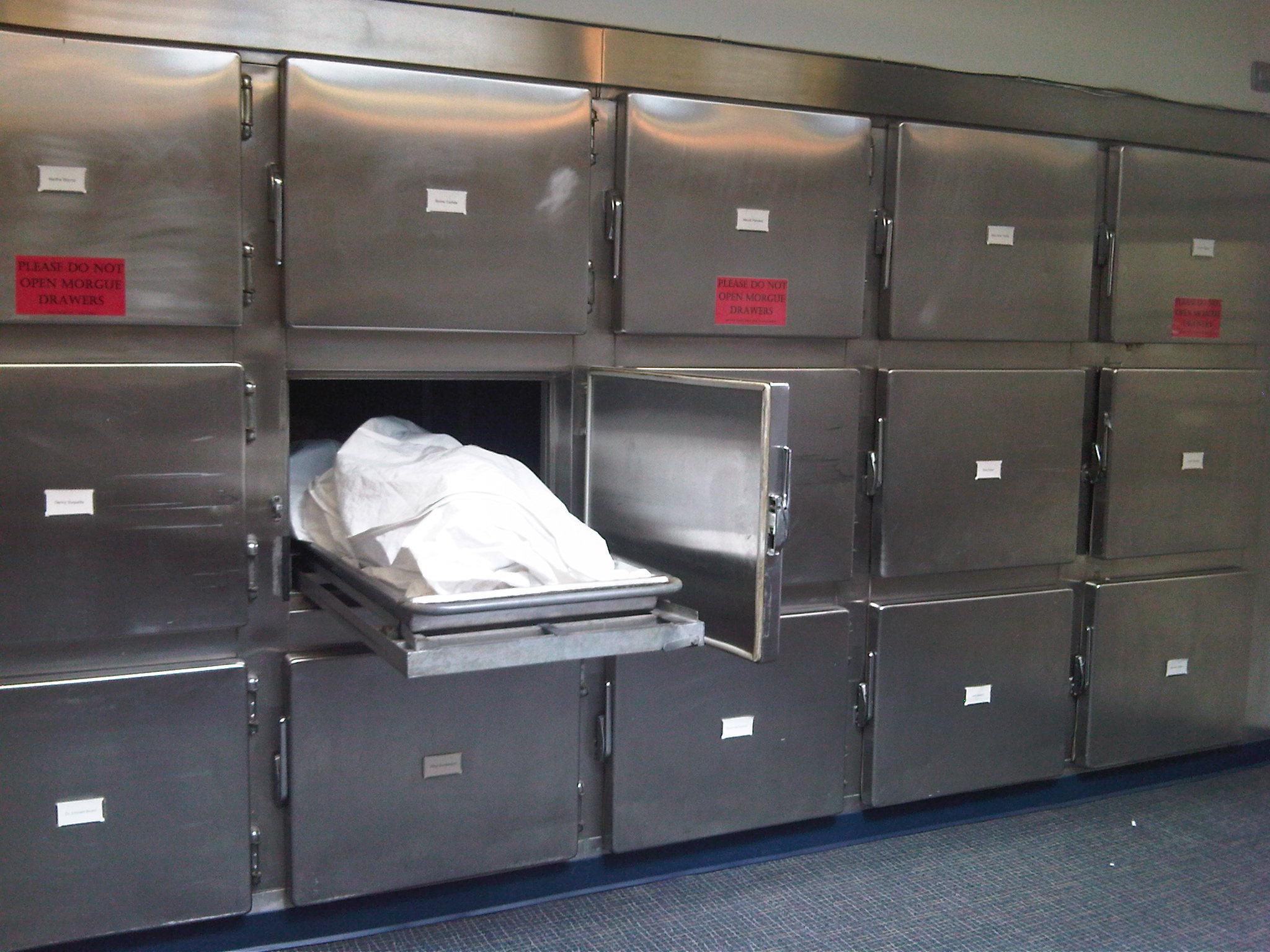 Venezuela's Government-Run Healthcare Morgue