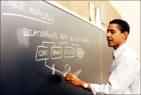 Behind the anti-Trump Disruptors, the Fine Hands of Alinsky and Obama