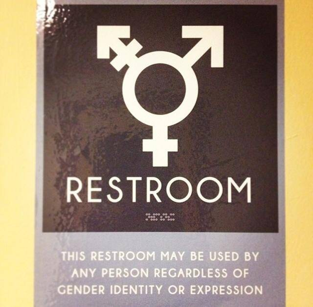 Progressives Muscle into the Restroom