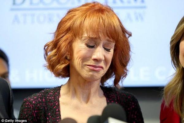 Kathy Griffin blames the victim