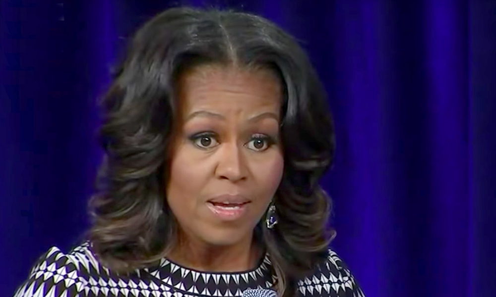 Behold the Lowlights of Michelle Obama's Trump-Bashing Tour